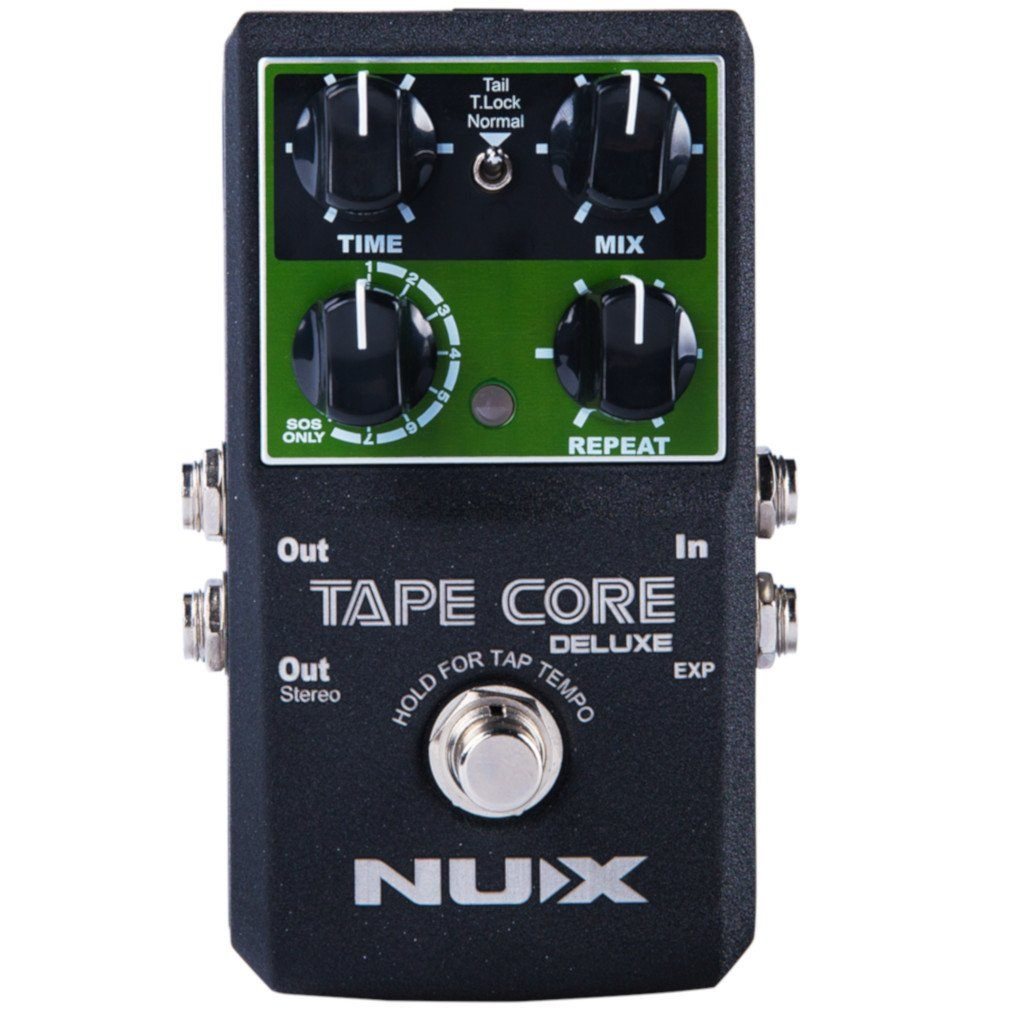 NuX Tape Core Deluxe Tape Echo Pedal for Guitar and Bass Open Box-ThePedalGuy