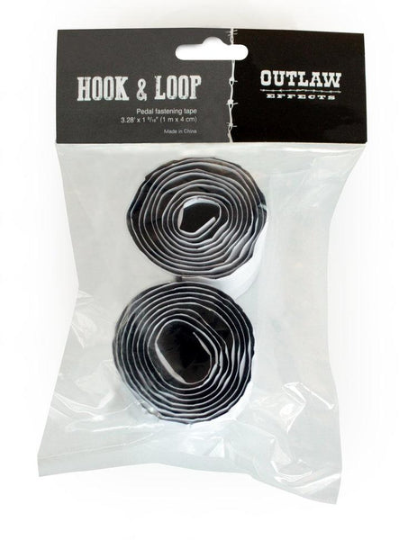 Outlaw Pedals Hook Loop Adhesive Pedal Mounting Tape 4cm wide x 1m long-ThePedalGuy