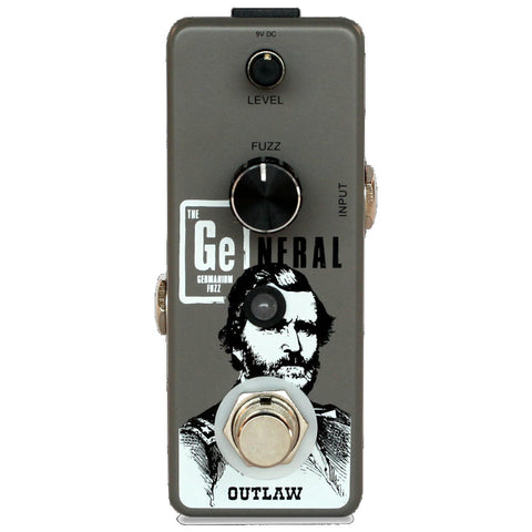 Outlaw Pedals The General Germanium Fuzz Pedal-ThePedalGuy