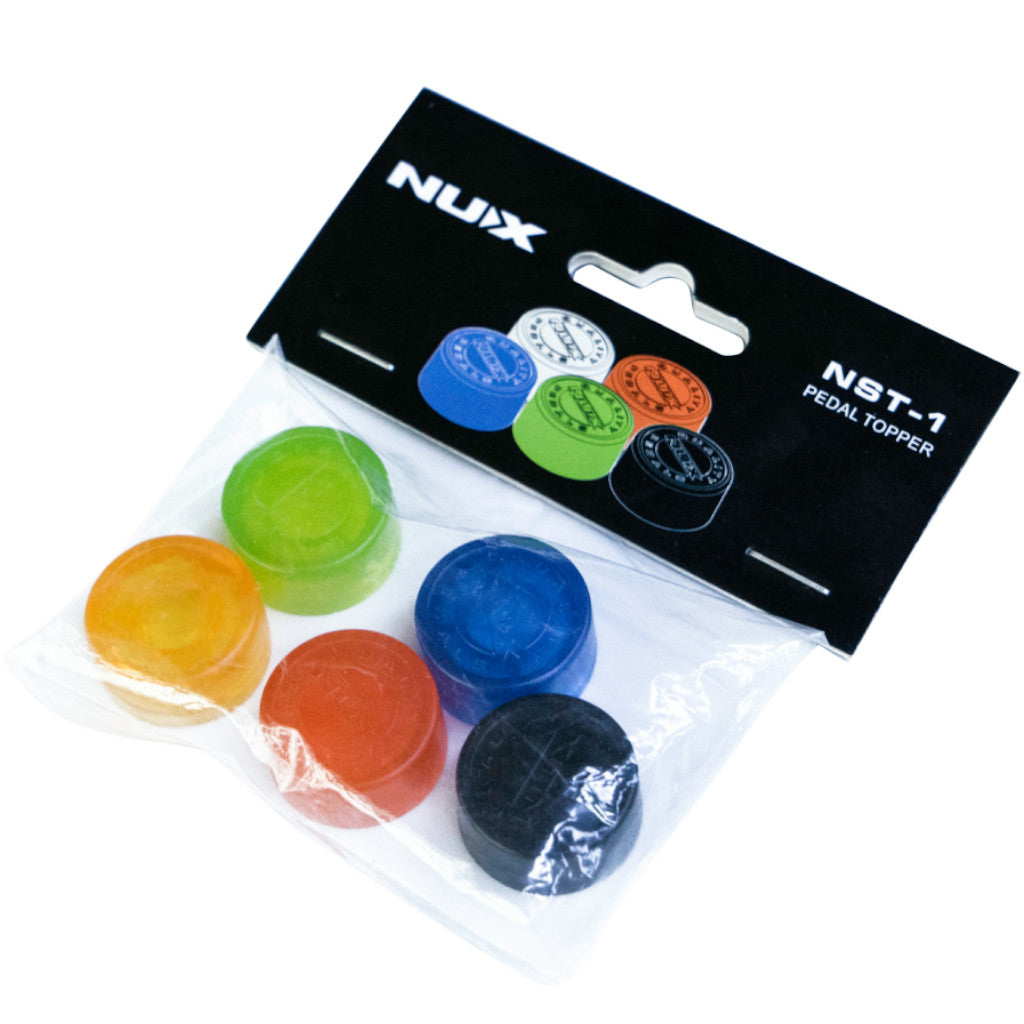 NuX Pedal Topper (NST-1) Footswitch Cap (Pack of 5)-ThePedalGuy