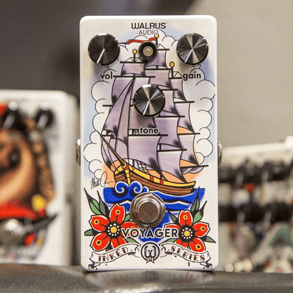 Walrus Audio Voyager Preamp/Overdrive Inked Series-ThePedalGuy