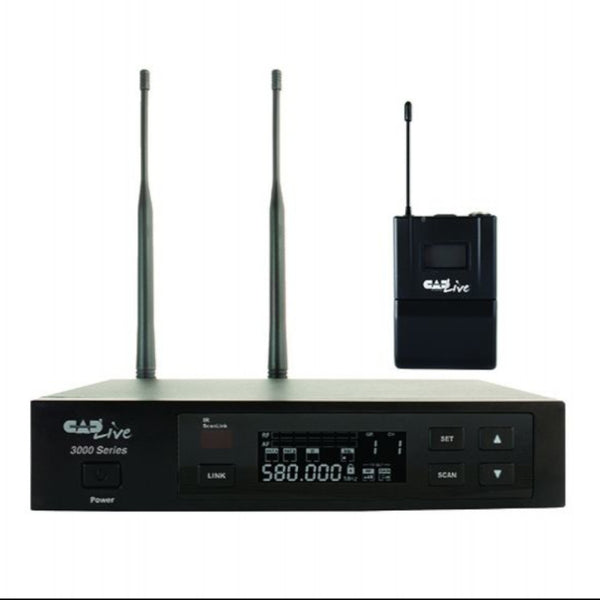 CAD UHF Wireless Body Pack Microphone System (Includes E19 Earworn, E29 Lavalier, and WXGTR)-ThePedalGuy