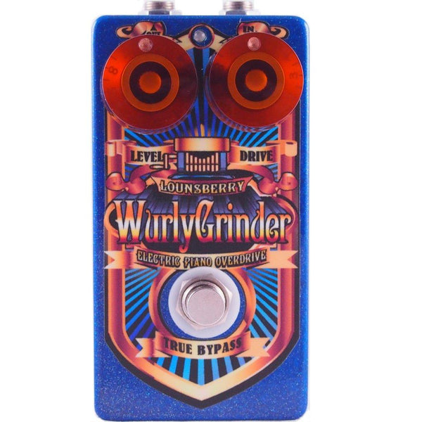 Lounsberry Pedals WGO-1 Wurly Grinder Preamp Pedal-ThePedalGuy