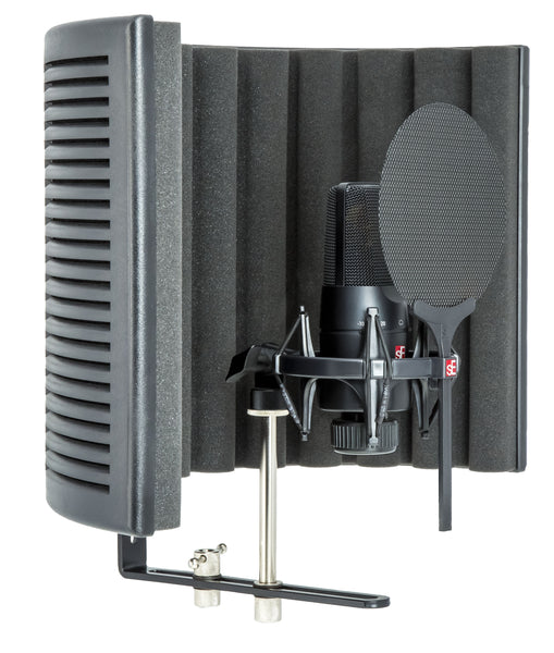sE Electronic X1-S-STUDIO-BUNDLE X1 S Microphone with Reflection Filter X, Shockmount and Cable Pack-ThePedalGuy