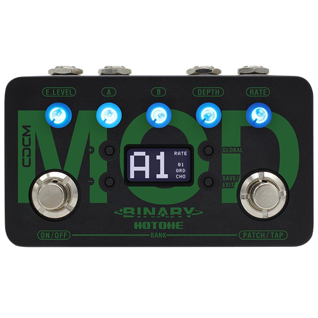 Hotone Binary Mod Modulation Effects Pedal-ThePedalGuy