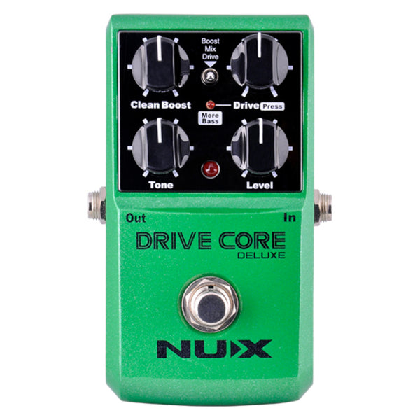 NuX Drive Core Deluxe Overdrive Tube Screamer-ThePedalGuy