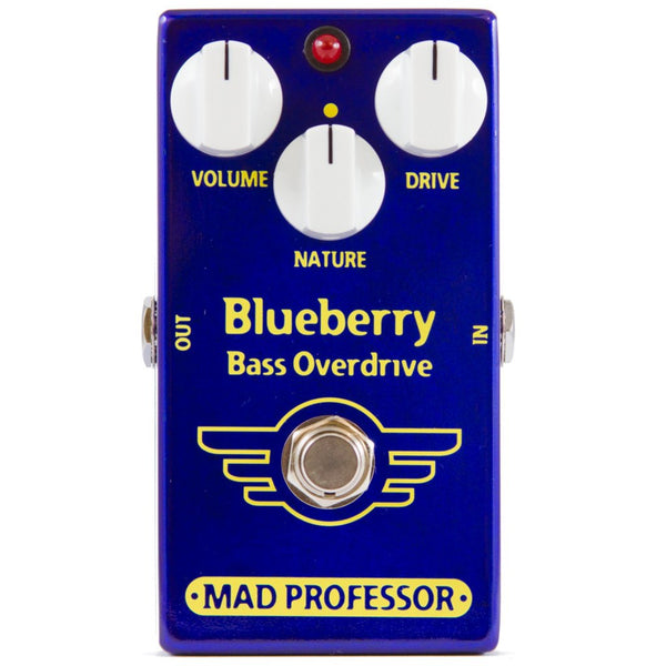 Mad Professor Blueberry Bass Overdrive Pedal-ThePedalGuy