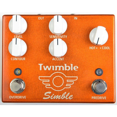 Mad Professor Twimble Predrive Overdrive Pedal Open Box-ThePedalGuy