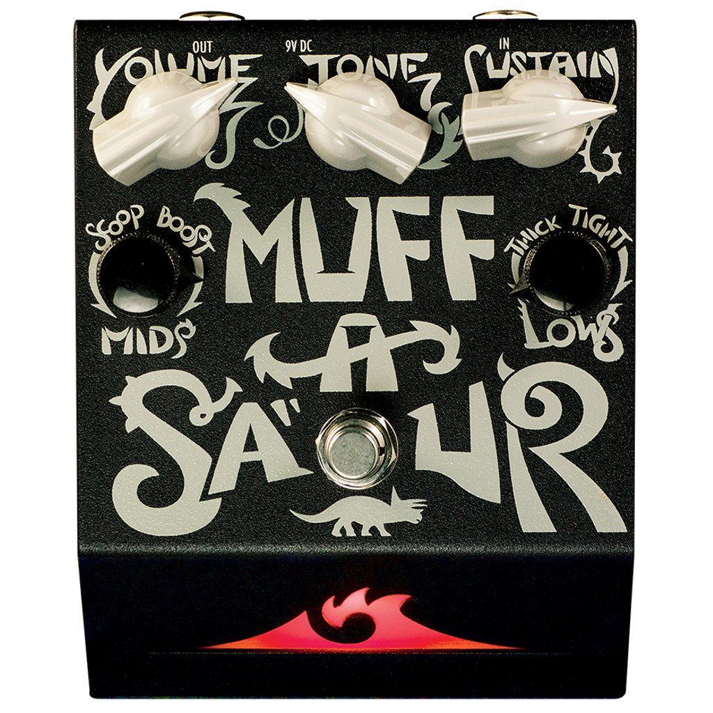 The Deep Trip Muffasaur Fuzz Pedal-ThePedalGuy