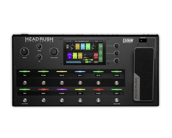 HeadRush Pedalboard Multi FX Pedalboard for Guitar Powered by Eleven HD - PREORDER NOW-ThePedalGuy