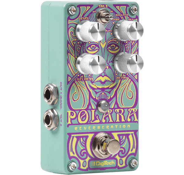 DigiTech Polara Pedal Featuring Seven Lexicon Reverb Emulations-ThePedalGuy