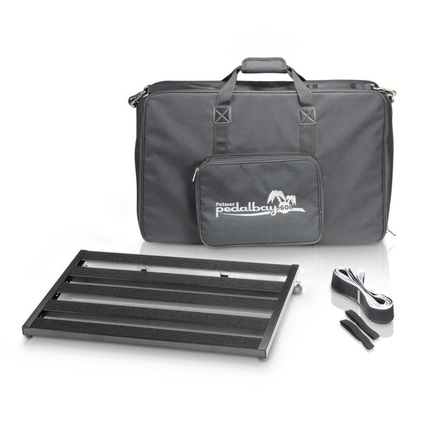 Palmer PedalBay60L Pedalboard with Softcase-ThePedalGuy