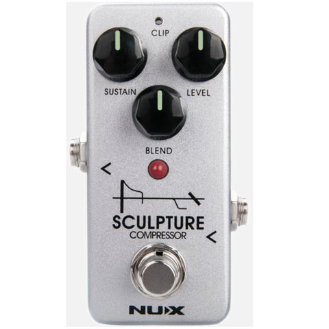 NuX Sculpture Compressor Pedal Open Box-ThePedalGuy