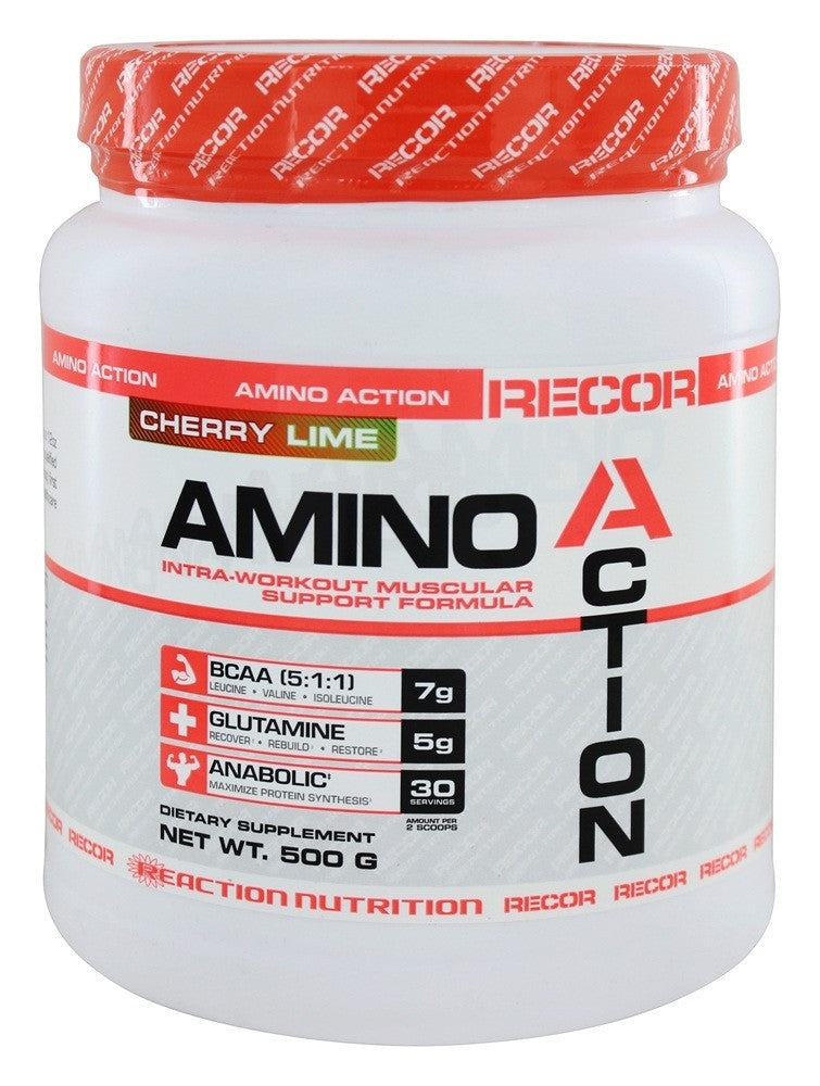 Reaction Nutrition Recor Amino Action BCAA