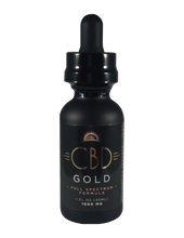 Load image into Gallery viewer, CBD Gold Full Spectrum 1000 mg