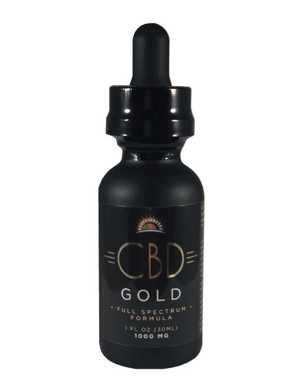 CBD Gold Full Spectrum 1000 mg