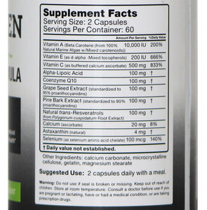 Evergreen Antioxidant Formula