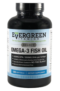 Evergreen High Potency Omega 3 Fish Oil