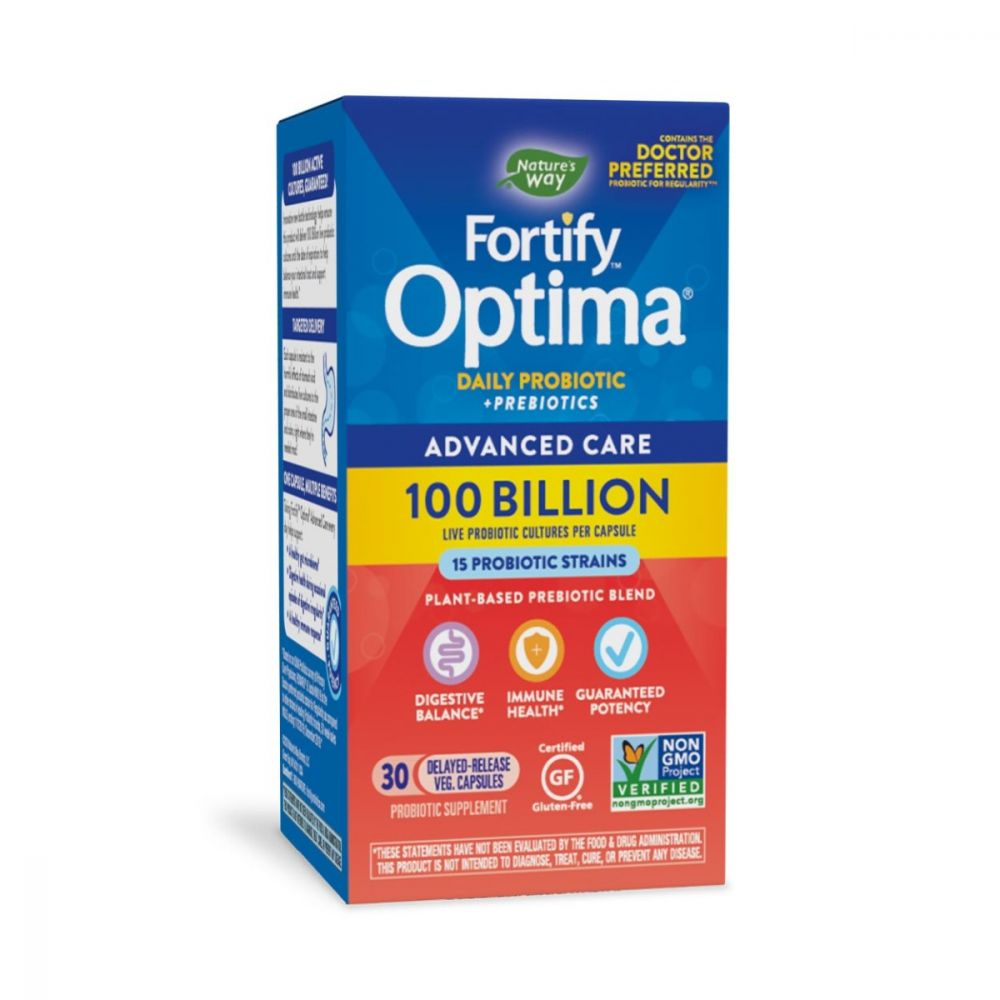 Nature's Way Optima Max Potency 100 Billion CFU Probiotic