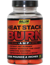 Load image into Gallery viewer, Razor Nutrition Burn AMP Thermogenic Natural Fat Burner