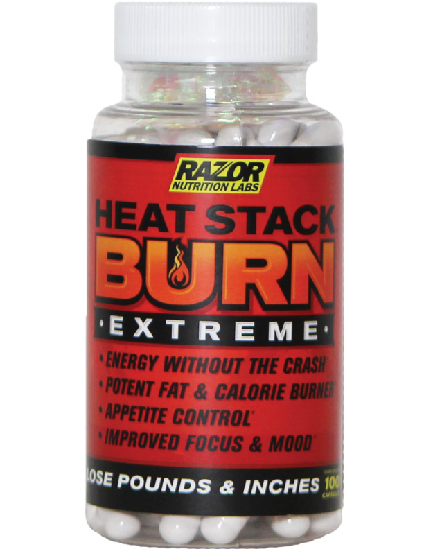 Razor Nutrition Burn Extreme Thermogenic Fat Burner
