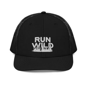 Run Wild Forest Trucker Cap