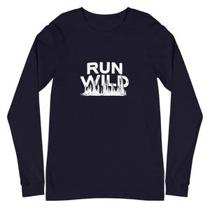 Run Wild Forest Unisex Long Sleeve Tee