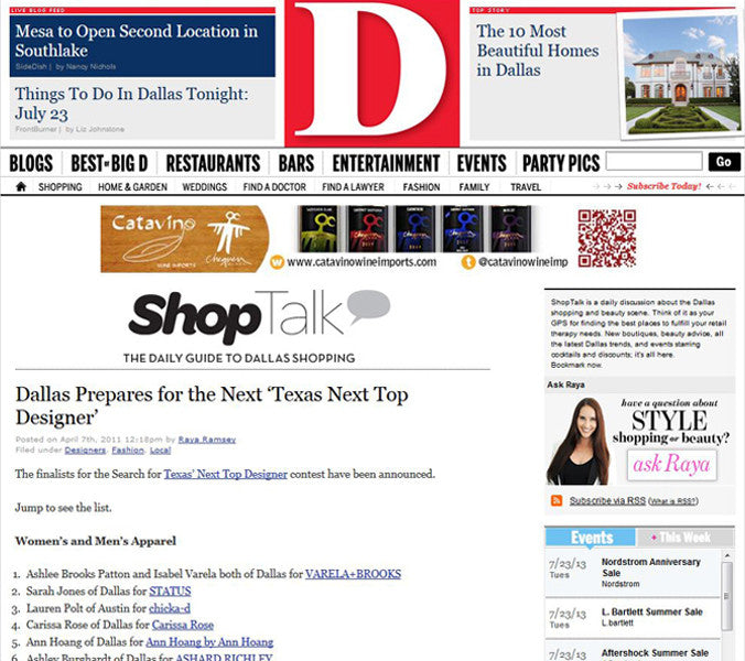 The Daily Guide to Dallas Shopping