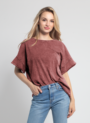 Mineral Slouchy Tee