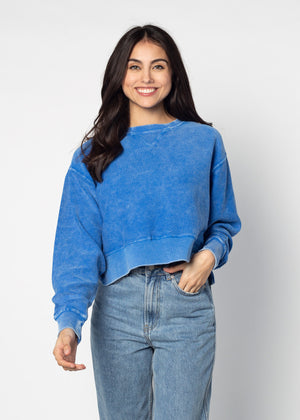 Corded Boxy Pullover