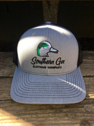 Heather Gray Widgeon Trucker - Southern Gin Clothing Company f4ce7744af7