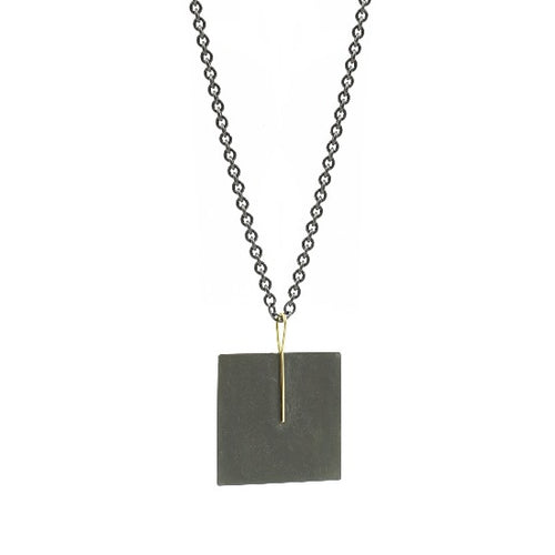 Kyla Katz Large Square MM Necklace
