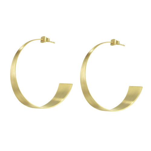 Bossa Gold Hoops