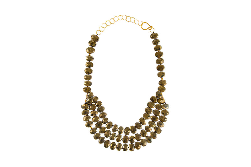 Georgina Pyrite Necklace