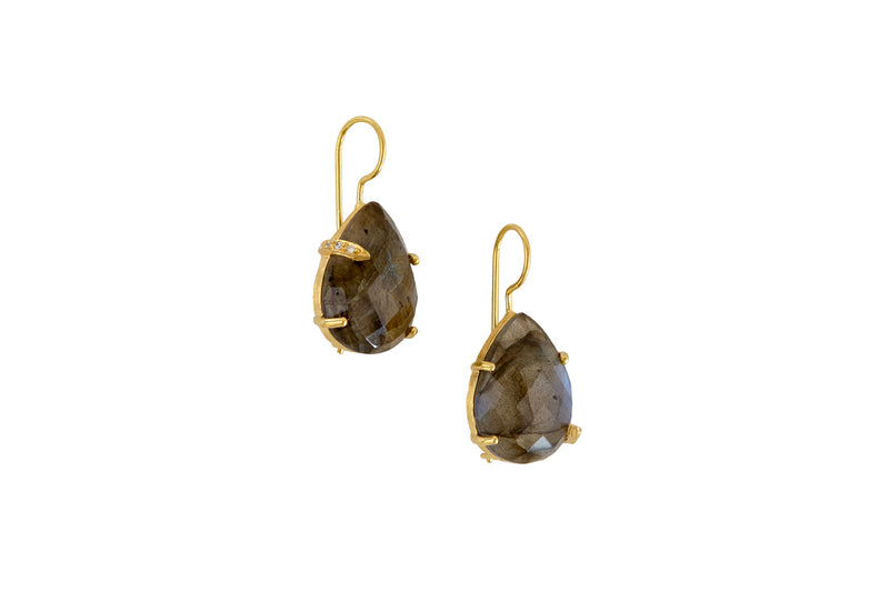 Savannah Labradorite Earrings