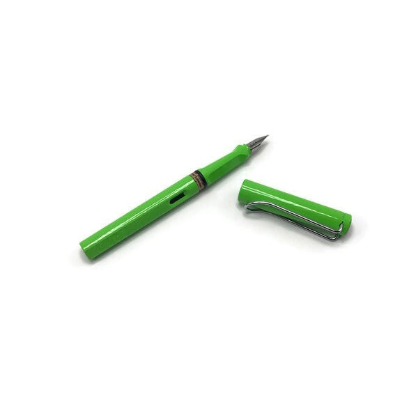 Nasher Logo Safari Green Pen