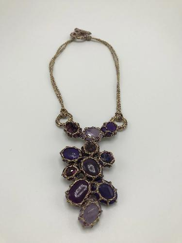 Bulle Purple Necklace