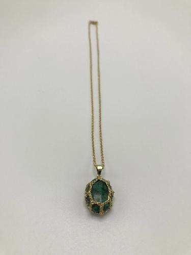 Gotta Chrysocolle Verde Necklace