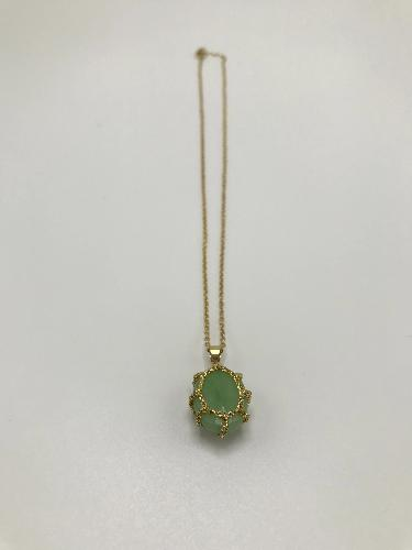Gotta Jade Verde Necklace