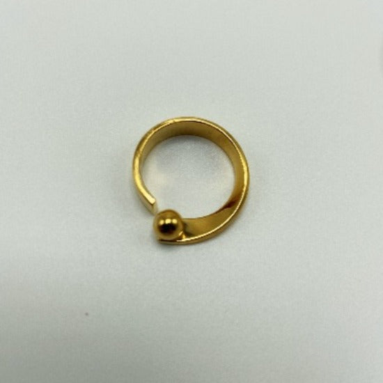 Twist Vermeil Ring Size 7