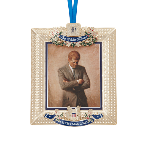 WHHA 2020 JFK Christmas Ornament
