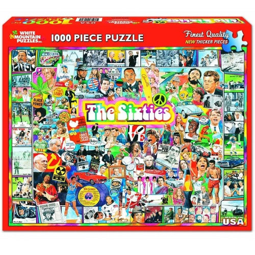 The Sixties 1000 Pc Puzzle
