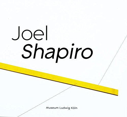 Joel Shapiro Book (white)