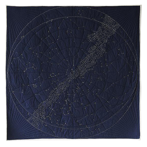Constellation Quilt [Navy]