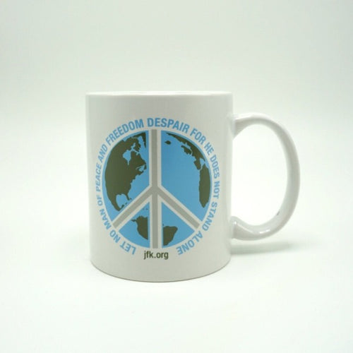 JFK Peace Quote Mug