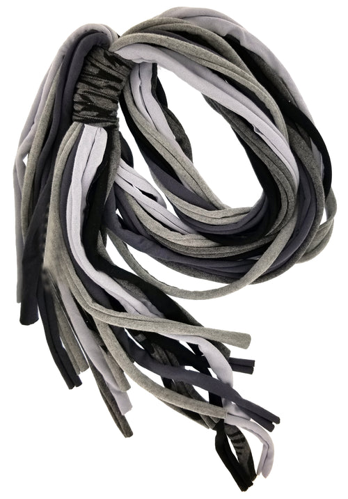 String Black/Gray Scarf