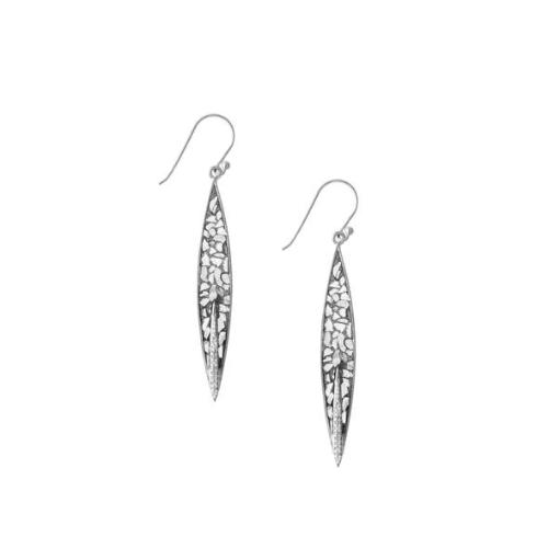 Saran Earrings-Silver