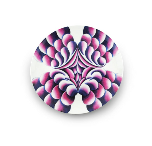 Judy Chicago Elizabeth R Dinner Plate