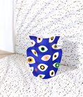 Mini Paper Vase Nazar Blue