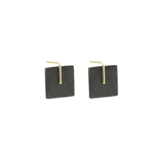 Kyla Katz Small Square MM Earrings